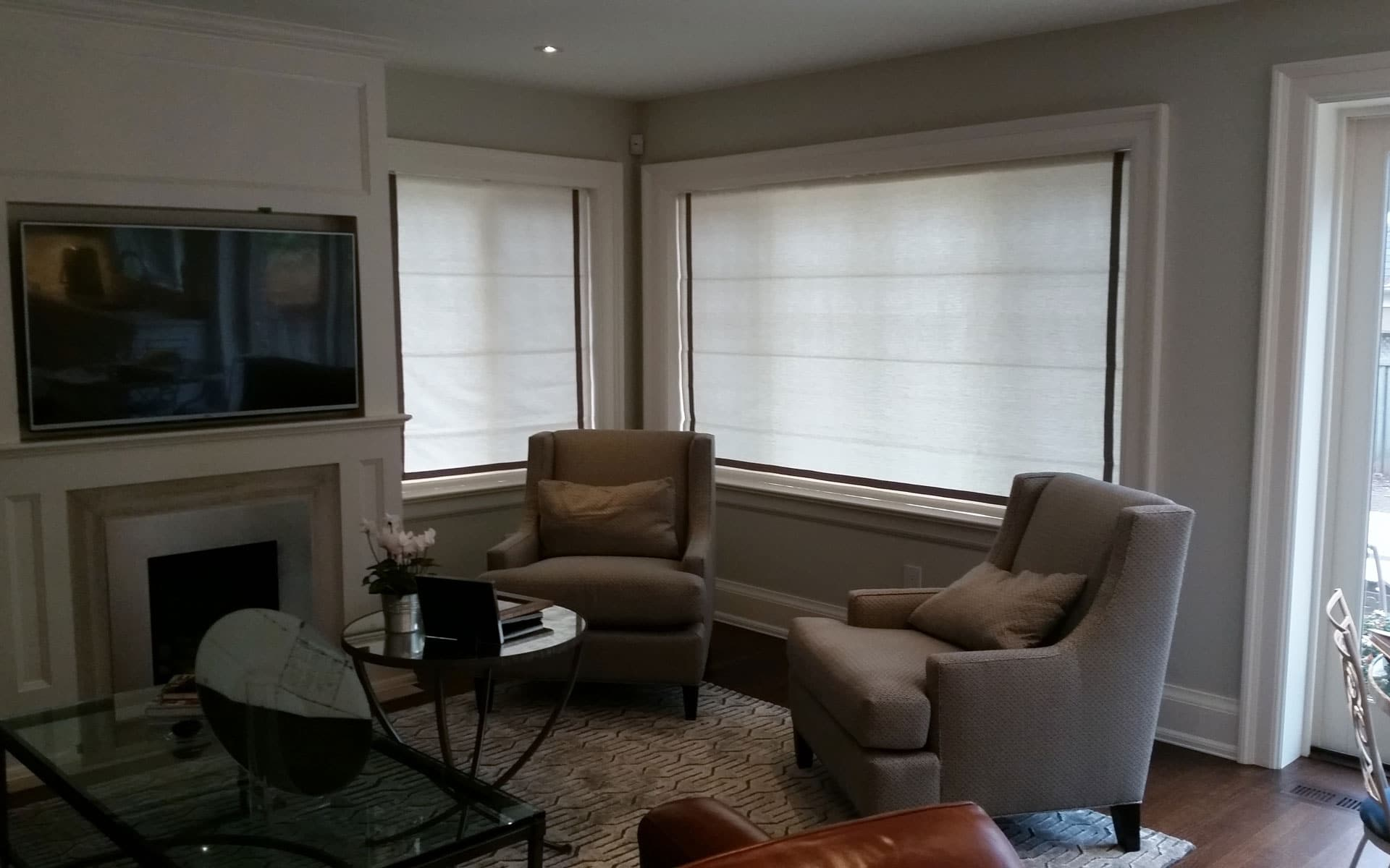 motorized lutron drapes pin com daylight manages drapery conveniently