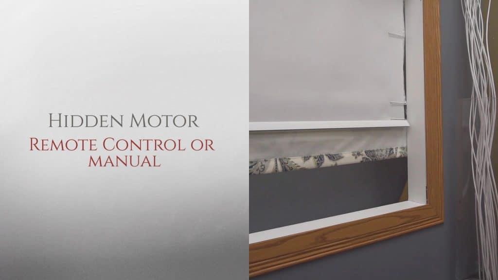 Motorized Roman Shades System